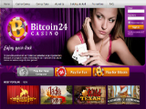 Bitcoin Casino 24	 Screenshots 1