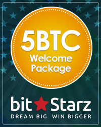 5BTC Welcome Package From Bitstarz